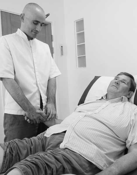 feeling the pulse at each wrist is an important part of the diagnostic process