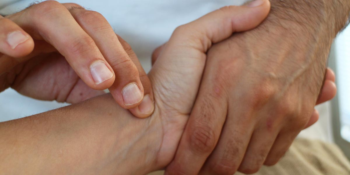 Pulse taking is a vital part of the traditional Chinese medicine diagnosis